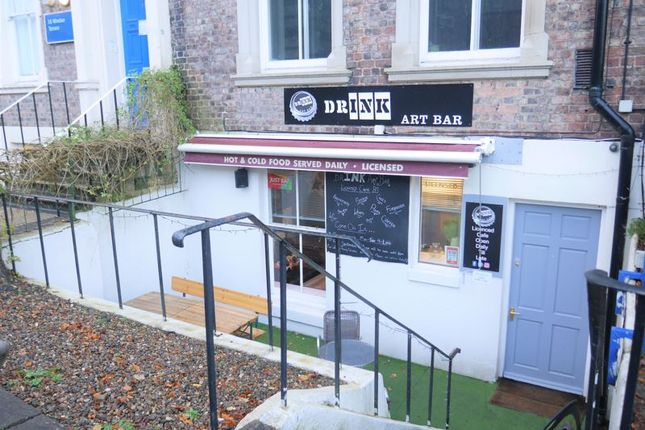Thumbnail Restaurant/cafe for sale in Drink Art Bar, 17 Windsor Terrace, Newcastle Upon Tyne