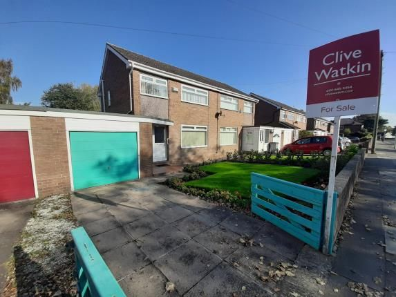 Thumbnail Semi-detached house for sale in Heath Road, Wirral, Merseyside
