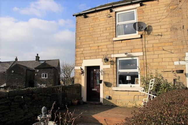 Thumbnail End terrace house for sale in Temple Street, Padfield, Glossop, Derbyshire
