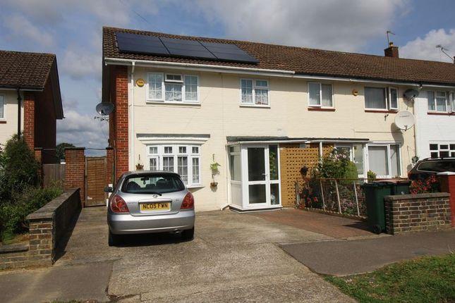 Thumbnail Semi-detached house to rent in Raven Lane, Crawley