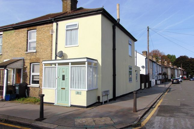 Thumbnail End terrace house for sale in Cuthbert Road, Croydon