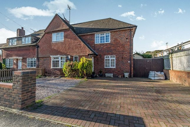 Thumbnail Semi-detached house for sale in Douglas Road, Lenham, Maidstone