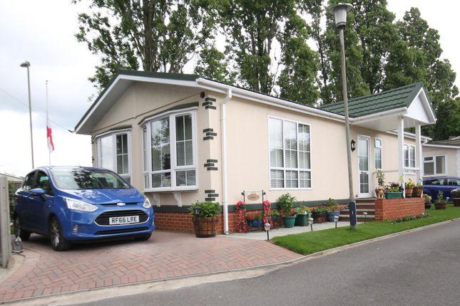 Thumbnail Mobile/park home for sale in Brookside Park, Hawley Lane, Farnborough