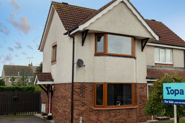 Thumbnail Semi-detached house for sale in Hunter Avenue, Heathhall, Dumfries