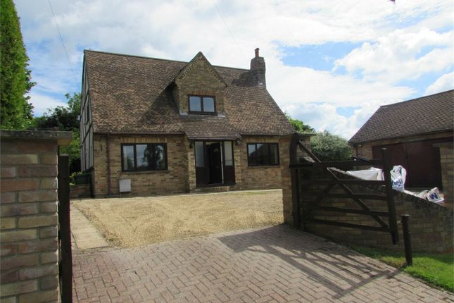 Thumbnail Detached house to rent in Church Road, Great Stukeley, Huntingdon