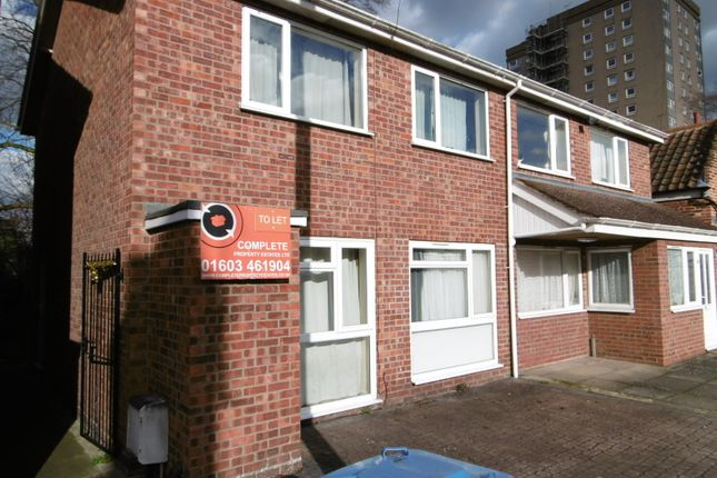 Thumbnail Semi-detached house to rent in Trory Street, Norwich