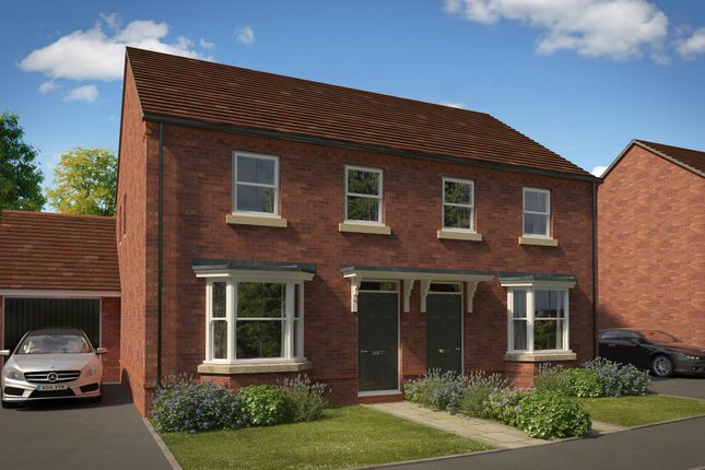 """Thumbnail Semi-detached house for sale in """"Archford"""" at Fox Lane, Green Street, Kempsey, Worcester"""