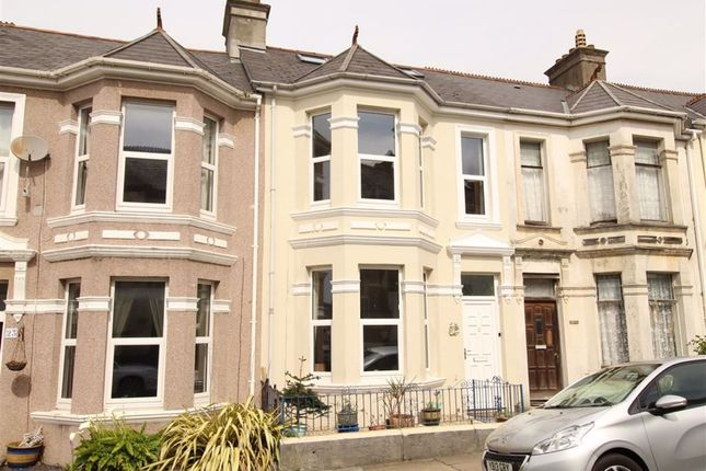 Thumbnail Terraced house for sale in Old Park Road, Peverell, Plymouth