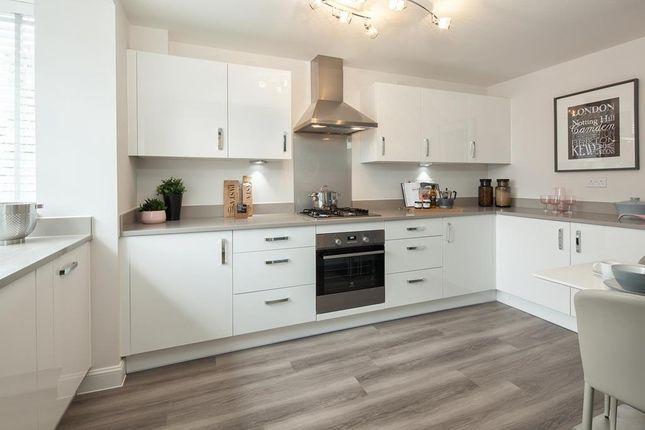"""Thumbnail Semi-detached house for sale in """"Woodcote"""" at Briggington, Leighton Buzzard"""