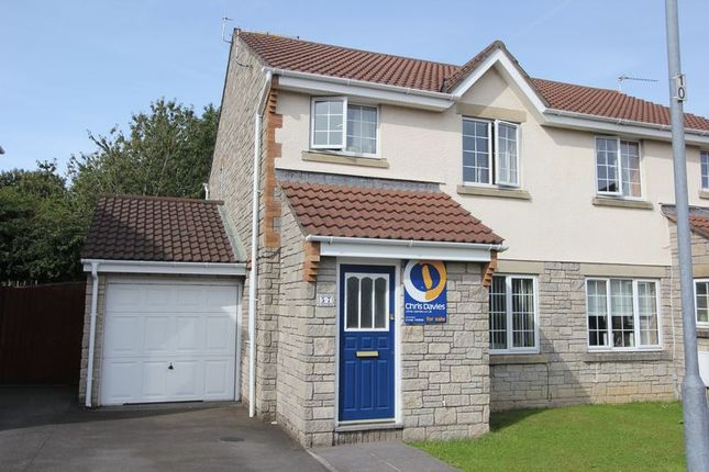 Thumbnail Semi-detached house for sale in Caer Worgan, Llantwit Major