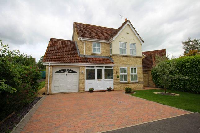 Thumbnail Detached house for sale in Turnberry Close, Monkton Park, Chippenham