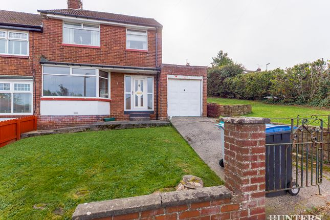 Thumbnail Semi-detached house for sale in Barley Mill Crescent, Consett