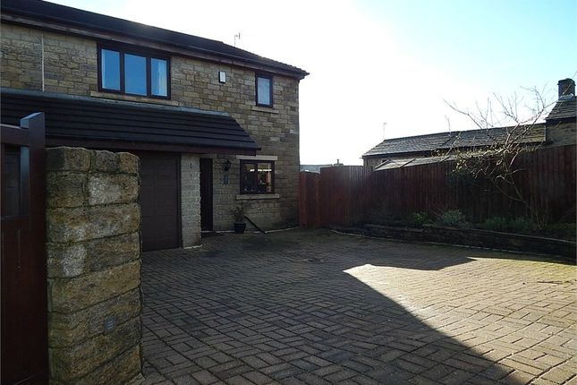 Thumbnail Semi-detached house for sale in Emmott Court, Laneshawbridge, Lancashire