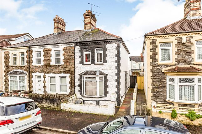 Thumbnail End terrace house for sale in Egerton Street, Canton, Cardiff