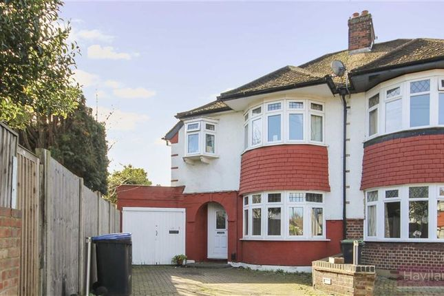 3 bed end terrace house for sale in Rowantree Close, London