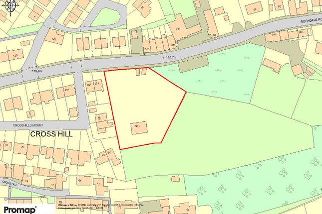 Thumbnail Land for sale in Rochdale Road, Greetland, Halifax