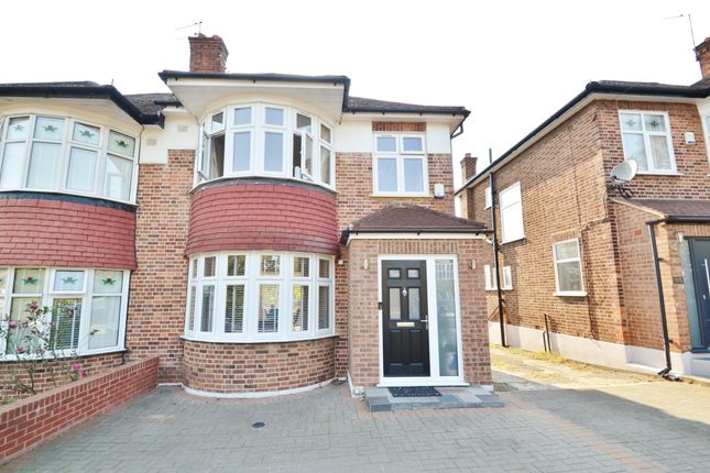 Thumbnail Semi-detached house for sale in Brookside South, East Barnet
