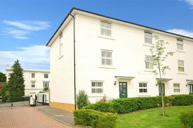 Thumbnail End terrace house for sale in Eden Chase, Edenbridge, Kent