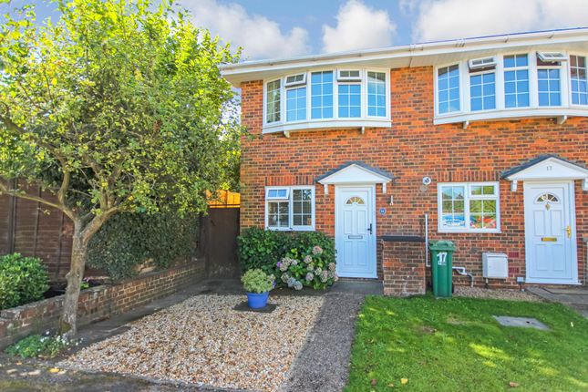 Thumbnail End terrace house for sale in Northdown Close, Horsham