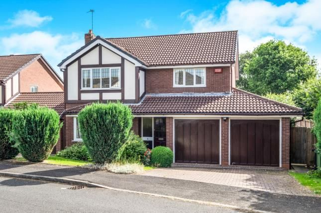 Thumbnail Detached house for sale in Hollington Way, Shirley, Solihull, West Midlands