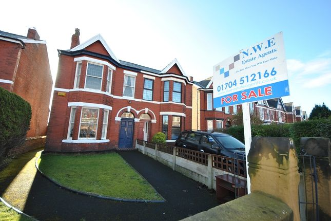 Thumbnail Semi-detached house for sale in Richmond Road, Birkdale, Southport