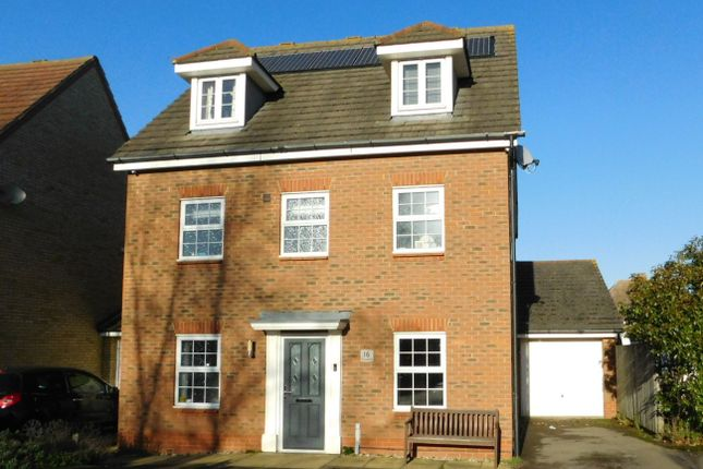 Thumbnail Detached house for sale in Chancellors, Church End, Arlesey, Beds