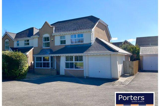 Thumbnail Detached house for sale in Tai Arfryn, Bridgend