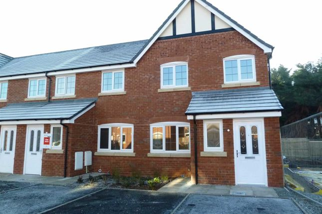 Thumbnail End terrace house to rent in Heritage Way, Llanymynech
