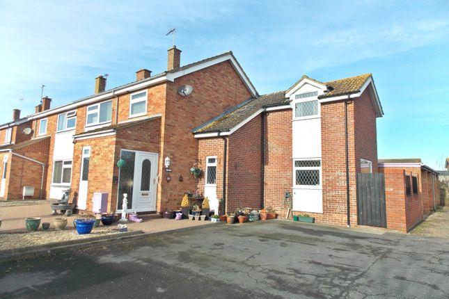 Thumbnail Semi-detached house for sale in Stuart Close, Felixstowe
