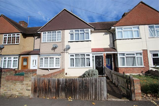 Thumbnail Terraced house to rent in Ashford Avenue, Ashford, Surrey