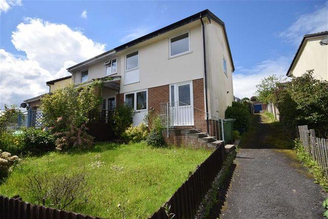 Thumbnail Semi-detached house to rent in Castle Hill Gardens, Great Torrington, Devon