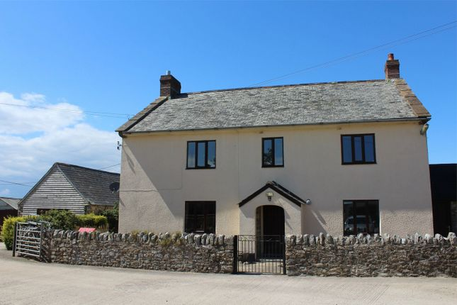Thumbnail Detached house to rent in Higher Stout Farm House, Yarcombe, Devon
