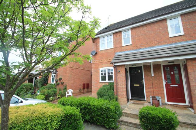 Thumbnail Semi-detached house to rent in Holly Drive, Aylesbury, Buckinghamshire