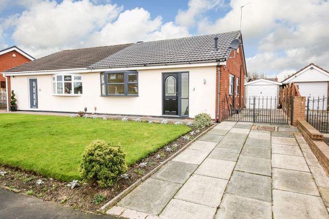 Thumbnail Semi-detached bungalow to rent in Wimborne Road, Orrell, Wigan