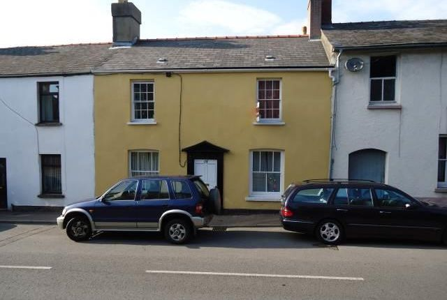 Thumbnail Terraced house to rent in Merthyr Road, Abergavenny