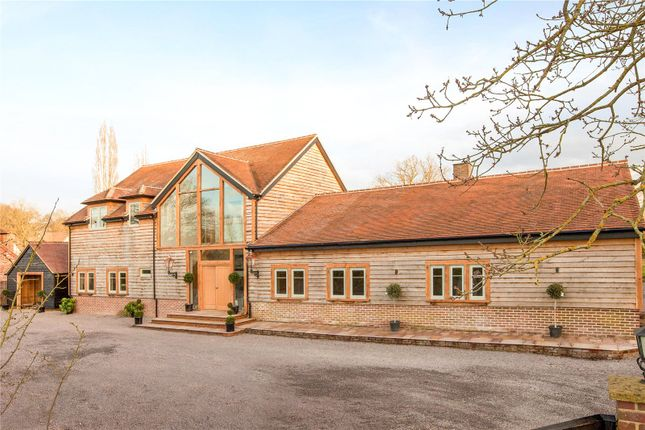 Thumbnail Detached house for sale in West End, Waltham St. Lawrence, Reading, Berkshire