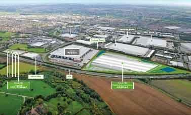 Thumbnail Land for sale in Centrum 90, Centrum West, Burton Upon Trent, Staffordshire