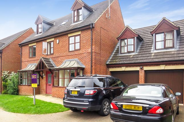 Thumbnail Detached house for sale in Croxen Close, Burton Latimer, Kettering