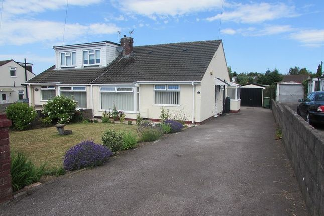 Thumbnail Semi-detached house for sale in 12 Red Roofs Close, Brynna Road, Pencoed, Bridgend.