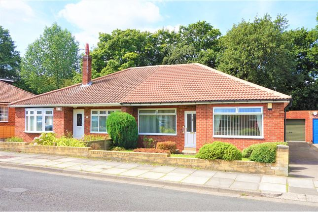 Thumbnail Semi-detached bungalow for sale in Willow Drive, Normanby, Middlesbrough