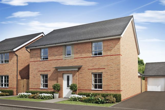 "Thumbnail Detached house for sale in ""Tamerton"" at Monkton Lane, Hebburn"