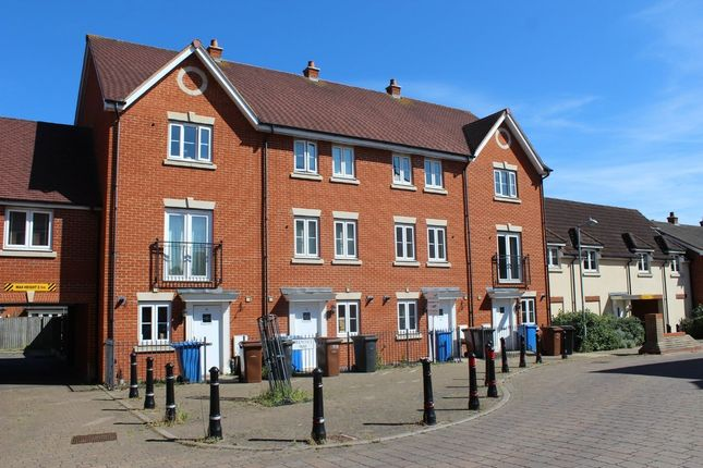 Thumbnail Town house to rent in Prentice Way, Ipswich
