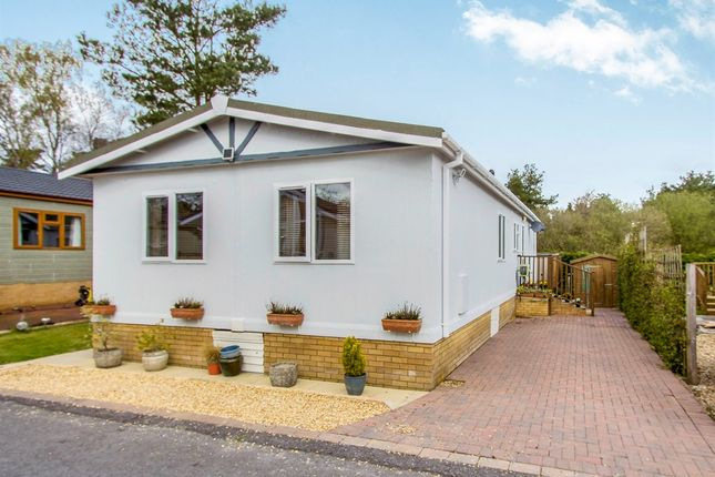 Thumbnail Mobile/park home for sale in Matchams Lane, Hurn, Christchurch