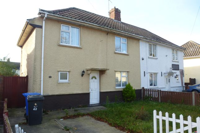 Thumbnail Semi-detached house to rent in Minden Road, Lowestoft