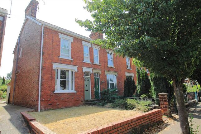 Thumbnail End terrace house to rent in York Road, Bury St. Edmunds