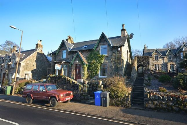 Thumbnail Flat for sale in Strathyre, Callander