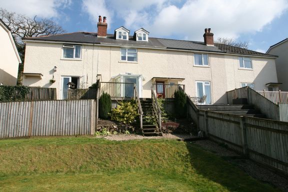 Thumbnail Terraced house for sale in Ford Road, Bampton, Tiverton