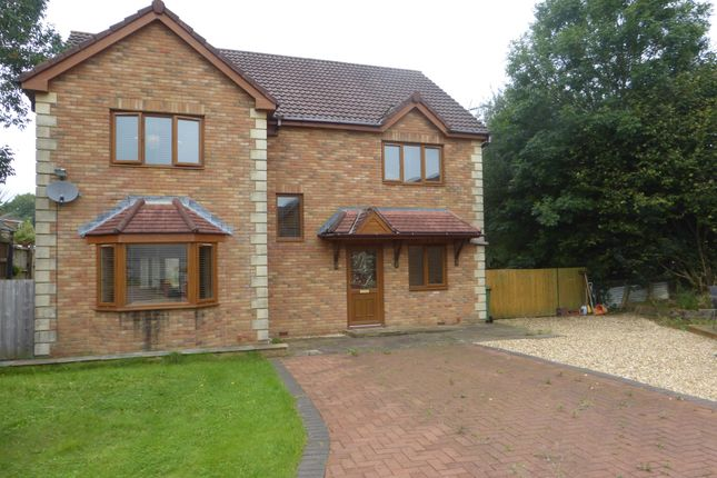 Thumbnail Detached house for sale in St Francis Field, Thomastown, Porth