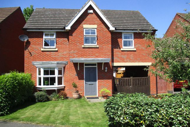 Thumbnail Detached house for sale in Loughland Close, Blaby, Leicester