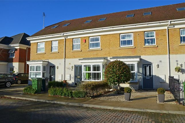 Thumbnail Terraced house for sale in Strawberry Court, Deepcut, Camberley, Surrey